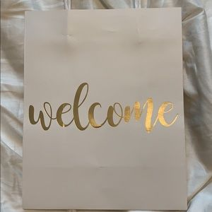 Other - 13 Gold Foil Welcome Bags